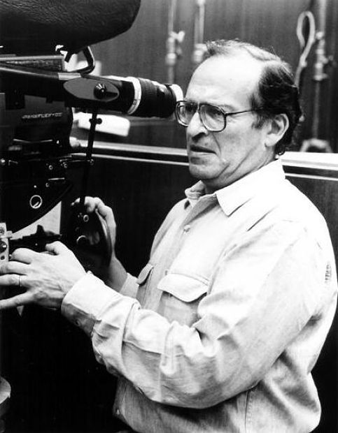 Director Sidney Lumet on the set of Family Business