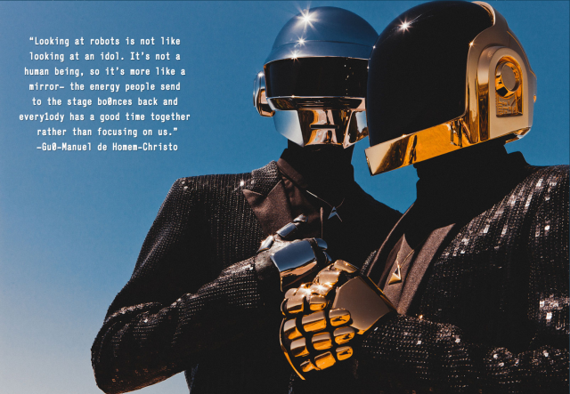 laughingsquid:  Daft Punk Cover Story on Pitchfork
