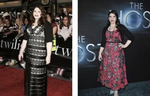 Woah. Check out all the success author Stephenie Meyer has had losing weight and getting in shape! Meyer is best known as the author of The Twilight Trilogy.