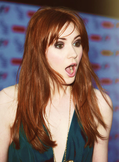8/25 pictures of Karen Gillan.