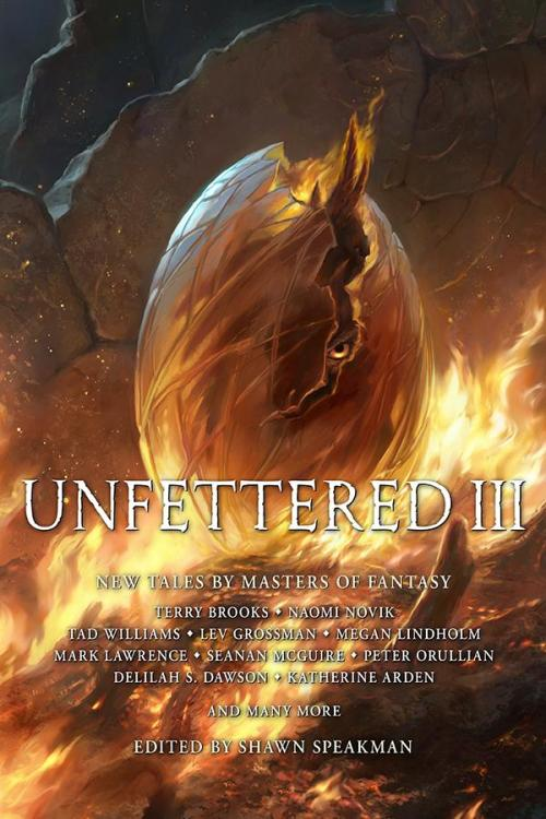 "For those who are unaware, Unfettered III is coming out, and it includes a story written by ""Robert Jordan and Brandon Sanderson"".. Shawn Speakman has said what Brandon decided to contribute should make fans of epic fantasy happy, and a new WoT story..."