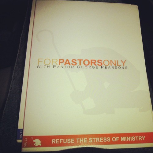 I love these teachings from pastor George Pearsons #pastorsonly
