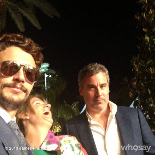 Cannes with kam and vinView more James Franco on WhoSay