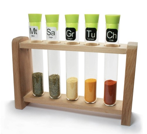 homedesigning:  Scientific spice rack