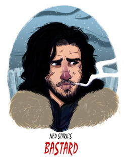 eatsleepdraw:  Jon Snow http://pabster.tumblr.com/