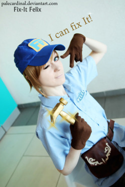 Wreck-It Ralph: FeliX :3 by *palecardinal