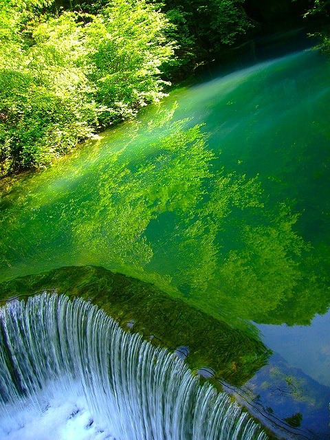 magicalnaturetour:  Hypnotic, Krupaja Spring, Serbia by MaddyCow on Flickr.