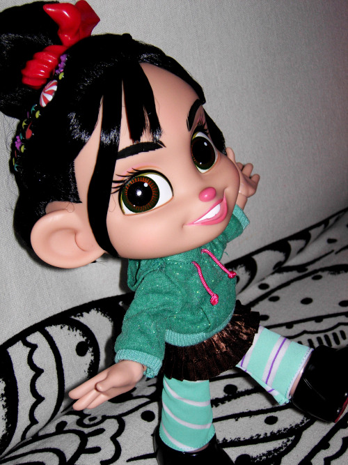 "Say ""Hi!"" to Vanellope!!!"