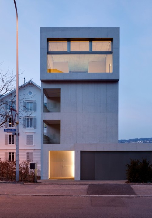 life1nmotion:  Urbaner Wohnturm in Horgen by MGH Architekten
