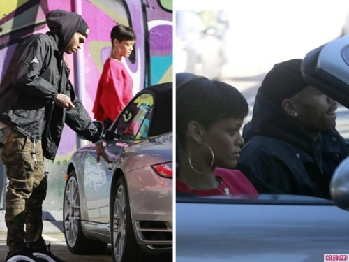 Where were Rihanna and Chris Brown going yesterday afternoon?! :-) Find out by clicking the image above!