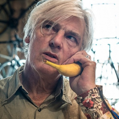 A great portrait of Robyn Hitchcock from this morning's KEXP session from SXSW at Mellow Johnny's Bike Shop! Check out our SXSW schedule at KEXP.ORG.