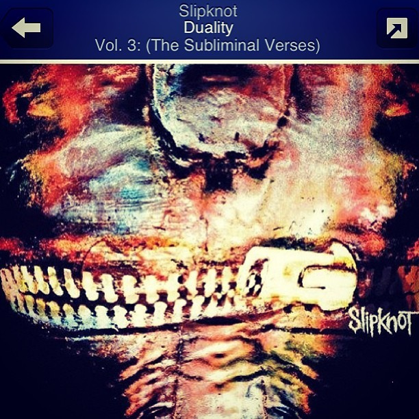 Now playing 😉 #Slipknot #Pandora #Best #Music 😛
