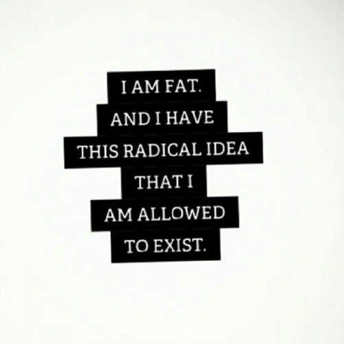 "tessmunster:  I am enough. Like it or not. I don't ""promote obesity"" I promote loving yourself regardless of your exterior. Sometimes people are so busy focused on the fact that I am ""fat, curvy, plus size"" that they don't even listen to what I am saying. I also get people who say I am ""fake"" or that I don't live what I preach & to those I say KISS my bootay. I have stepped out of my comfort zone so much in the past years while I discover who I am & find my confidence. The ones pointing the fingers probably wouldnt dare do half of the things I have done. However even though they are so quick to judge me or make assumptions, I keep doing ME in hopes that one day they will realize that they can love the skin they are in without feeling the need to tear others down. I never claimed to have all the answers or be the Mother Teresa of the body positive movement, but I do know that life is so much better when you embrace who you are & stop caring what everyone around you is doing. #effyourbeautystandards"