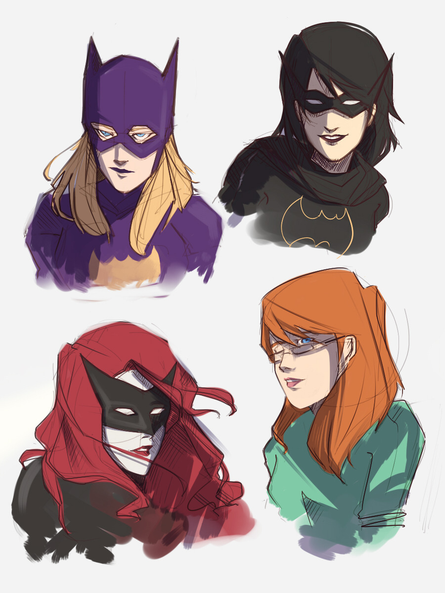 Bat Women by poof-ball