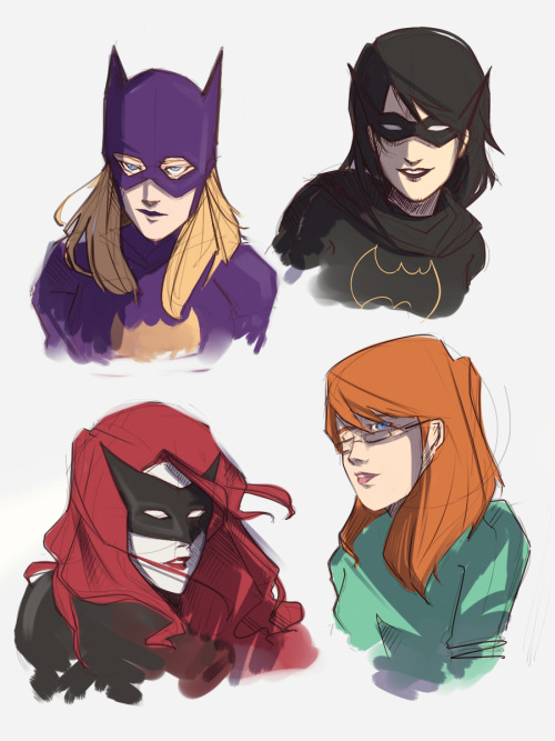 Bat Women by ~poof-ball