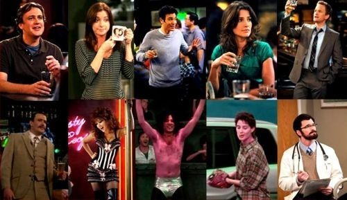 Doppelgängers de How I met your mother