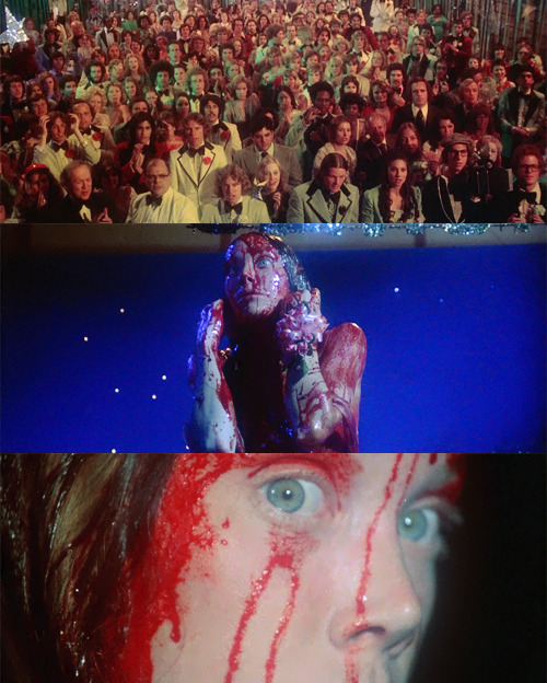 """They're all gonna laugh at you."" -Carrie (1976)"