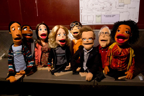 "Community is doing a puppet episode.  In the episode, the group takes a balloon ride and crashes in the woods, where they meet a mountain man played by Jason Alexander. Attempting to encourage them to speak about the experience, Dean Pelton urges them to talk about it using puppets. Hilarity ensues.   NBC only says ""later this spring"" for an air-date. (x)"