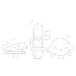 From: hauntedbakery  A really smug stapler. A really happy cactus. A really sour lemon.