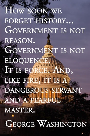 Government is not reason.