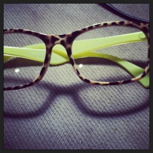 my new fake glasses 👓 #cheetahprint #new #glasses #fake #trendy