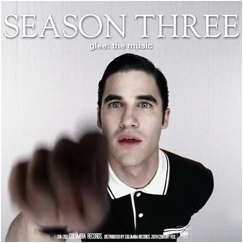 Glee: The Music, Season Three Requested Album Cover Request by thes0undofdrums