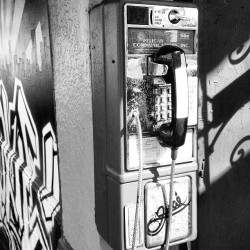 Don't see these anymore #sanfrancisco #payphone #roxies #sandwich #oldschool  (at Roxie Food Center)