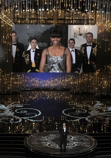 How did Michelle Obama end up announcing best picture? (Photo: Chris Pizzello / Chris Pizzello/Invision/AP) Oscar night was a good time for Ben Affleck, Jennifer Lawrence and Daniel Day-Lewis, and a mixed bag for viewers. The awards show was long and uneven, and also a puzzling night in many respects. We tackled some of the unanswered questions that remained after the Dolby Theatre emptied. What was up with Michelle Obama's cameo? Was this the longest show ever? What tripped up Jennifer Lawrence? Find out the answers to these burning questions.