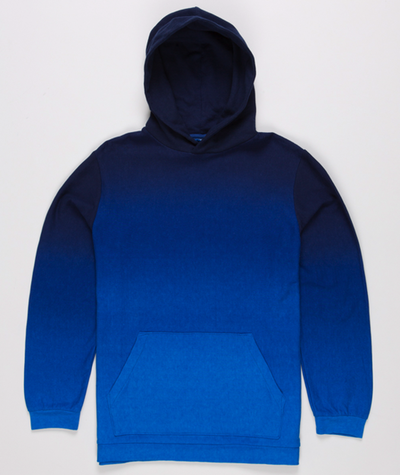 Norse Projects - Indigo Dyed Hooded Sweat