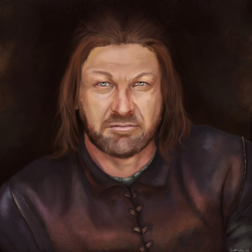 gameofthrones:  Winter Is Coming - Ned Stark http://uninvitedchaos.tumblr.com/