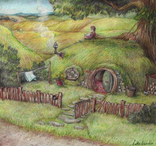 Hobbit Hole by ~Sherlockian