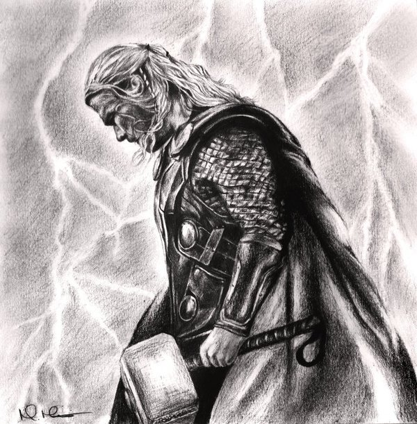 darkknightress:  God of Thunder by ~mharris93