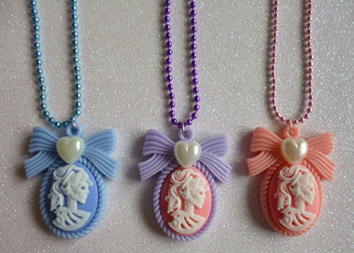 calamityjaynedesigns:   Skeleton lady cameo necklaces! https://www.etsy.com/shop/CalamityJayneDesigns