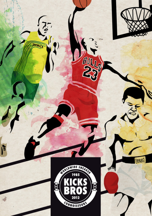 Poster for KICKS BROS (http://www.kicksbros.it)