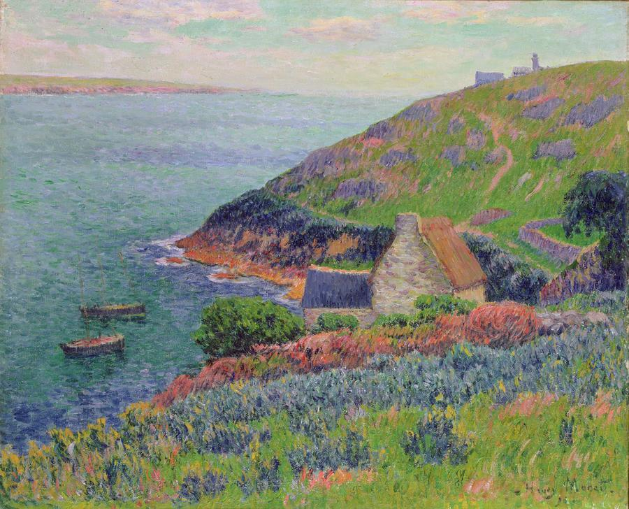 Port Manech, 1896 Henry Moret