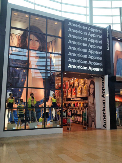 American Apparel. May 2013.