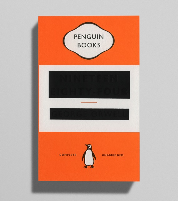 imkaneforever:  The new cover for George Orwell's 1984.