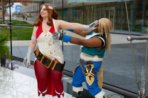 Well this is one way to get the ladies. LOL From Youmacon with Vicious Cosplay as Beatrix and yeah this is how you get rejected by a Knight for the Princess/Queen lol Photo Taken by Octomobiki Convention/Event Coverage Also go comment and fave on my DA guys. FFIX - LET ME LOVE YOU by ~roxastuskiomi