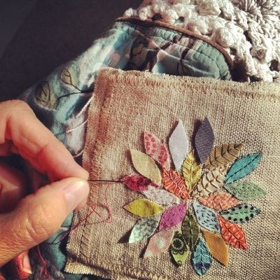 sallysetsforth:  What a lovely stitching idea :) (via the quote keeper's summer series (04) (Rebecca Sower))