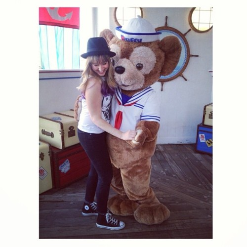 Duffy is a charmer ☺ (at California Adventure )