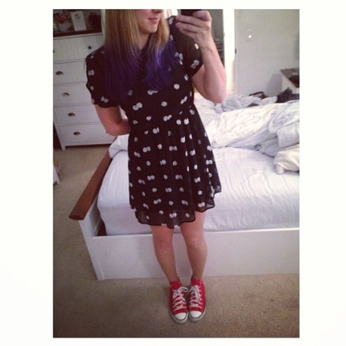 New dice dress! 🎲 (at Scoggs' Pad)