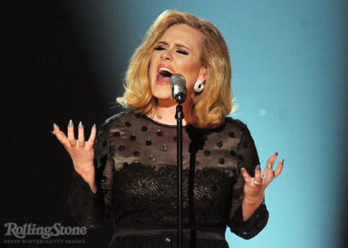 "rollingstone:  [Adele] also has an alter ego she uses to pump herself up, called Sasha Carter – a composite of Beyoncé's Sasha Fierce and June Carter. ""I was about to meet Beyoncé,"" she says, ""and I had a full-blown anxiety attack. Then she popped in looking gorgeous, and said, 'You're amazing! When I listen to you I feel like I'm listening to God.' Can you believe she said that?"" Later, ""I went out on the balcony crying hysterically, and I said, 'What would Sasha Fierce do?' That's when Sasha Carter was born."" Happy 25th birthday Adele!  I fuckin love Adele."