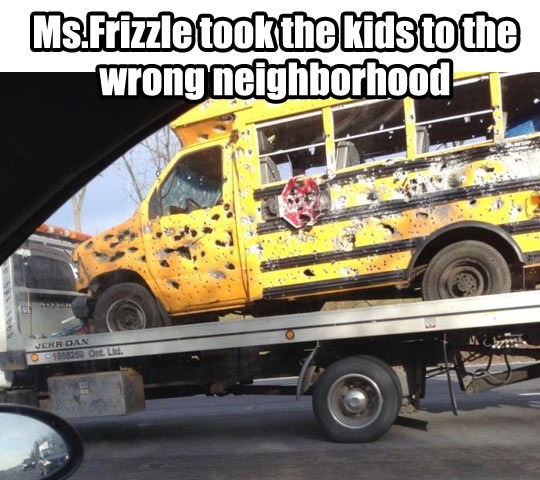 mintandfurs:  Omggggg lmao.The Magic School Bus ain't so magic now.