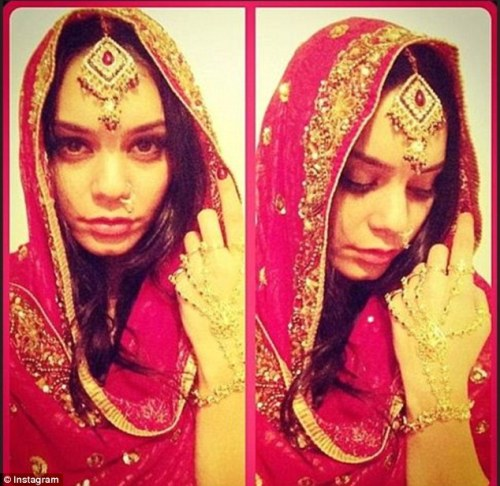 Vanessa Hudgens goes Bollywood on Instagram