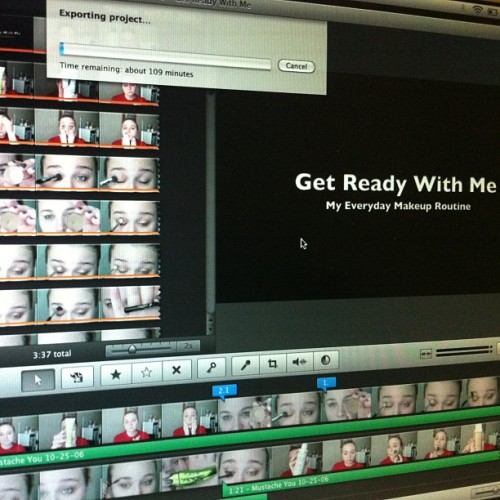 It's been a while, but I'm exporting a video! Youtube.com/nora131