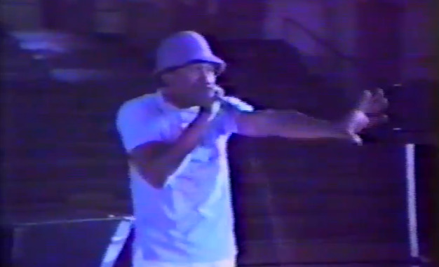 "thestrutny:   (via Watch a rare performance by 17-year-old LL Cool J in a Maine gymnasium) In 1985 LL Cool J was hired to play a show with Cut Creator in Portland, Maine. He puts on a great performance WATCH HERE  ""Ladies and gentlemen, all of this is known as 'rapping.'"""