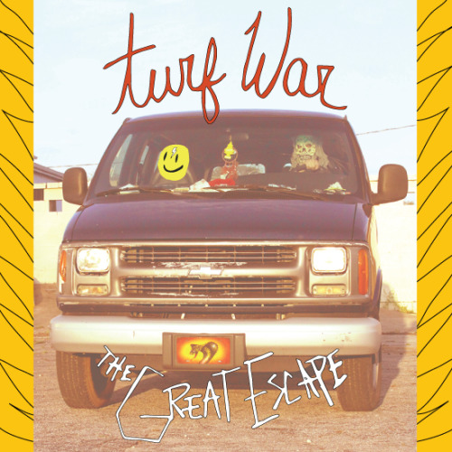turfwar:  Our New EP The Great Escape is now available for free download on our bandcamp. recorded at Converse Rubber Tracks Studio in New York, mixed by Alex Newport (Pissed Jeans, The Mars Volta, The Melvins, etc…). We have a cassette release coming in May via Secret People Records, but the digital is all yours right now.  tracks1. Born To Run Free2. The Great Escape3. Pay My Dues4. Still Around http://turfwarusa.bandcamp.com/album/the-great-escape