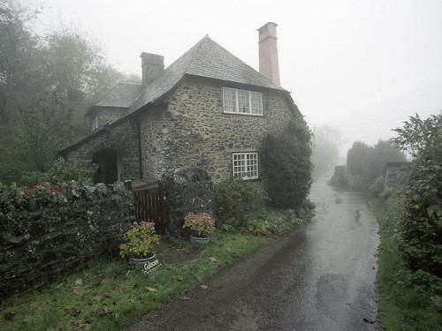mykindafairytalee:  Misty Parsonage by Peppergroyne on Flickr.