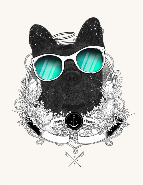 "I just posted ""reinbou"" alex Ghevara  (Chile) via Curioos"