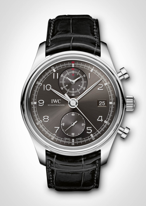The @IWC Portuguese Chronograph Classic.  Introduced just today, this is an update collectors have been waiting for for years.  It features a classic Portuguese design, for the first time with an IWC in-house flyback chronograph movement.   Full details and pricing on the'Dink.
